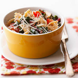 Pasta with Swiss Chard.