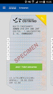 OSTWIND Tickets – Miniaturansicht des Screenshots