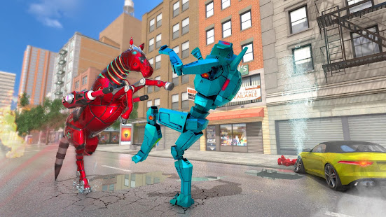 Download Super Horse Robot Transform: Flying Helicopter For PC Windows and Mac apk screenshot 12