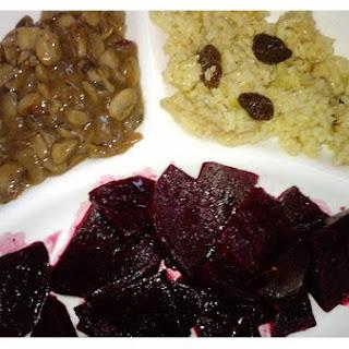 Raisin Rice Pilaf