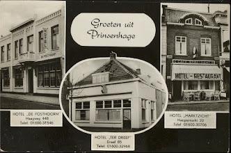 Photo: 1960 Hotel De Posthoorn, Hotel Ter Dreef, Hotel Marktzicht