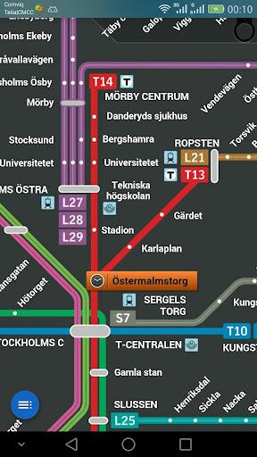 斯德哥尔摩地铁图