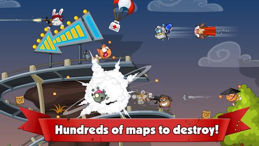 Wormix: Team Tactics PVP & Multiplayer Battles  captures d'écran 2