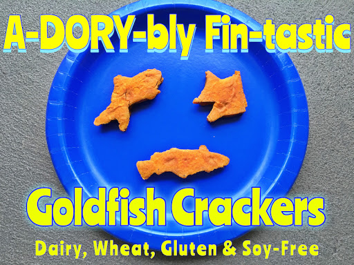 A-DORY-BLY FIN-TASTIC GOLDFISH CRACKERS
