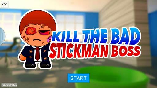 Kill The Bad Stickman Boss 1 screenshot