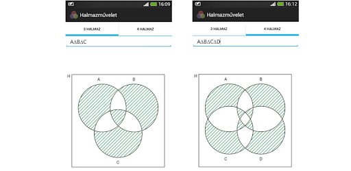 Set operations venn diagram apps on google play ccuart Images