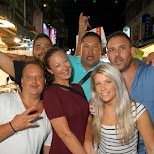 taking my North-American friends to the Linjuang night market in Taipei in Taipei, T'ai-pei county, Taiwan