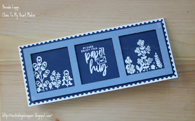 Slimline Card with Flowers for You — May Stamp of the Month