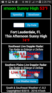 South & Southeast Weather Pro- screenshot thumbnail