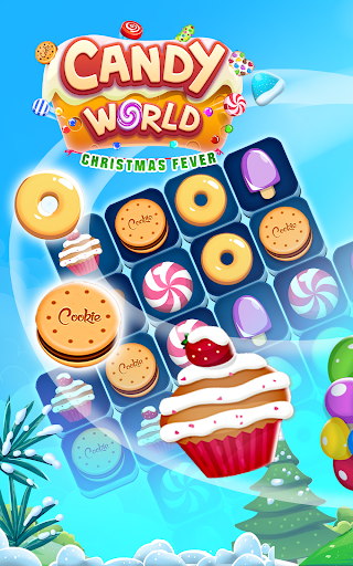 Christmas Candy World - Christmas Games apkmr screenshots 1