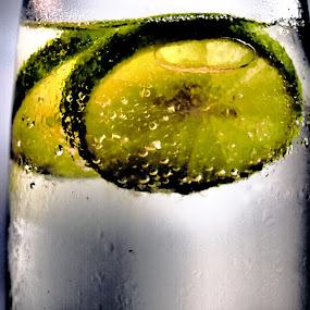 Lemon n Sprite by Lisawati Gunawan - Food & Drink Alcohol & Drinks ( cold, drink, soda, lemon,  )