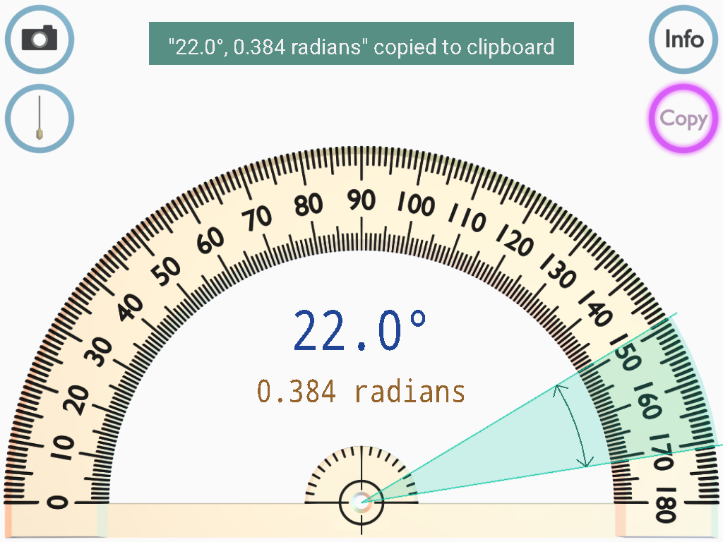 worksheet Protractor Image protractor android apps on google play screenshot