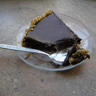 Passover Truffle Tart with Macaroon Crust