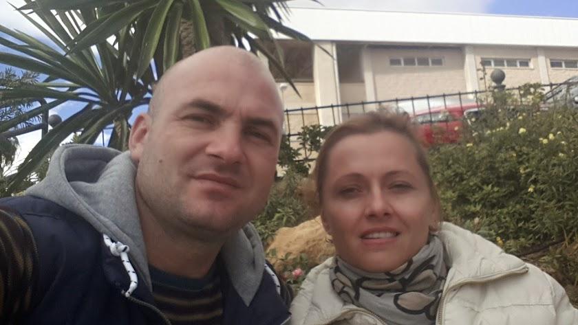 Marius y Angelica Pintilescu, el matrimonio rumano que ha recibido la multa de 1.202 euros.