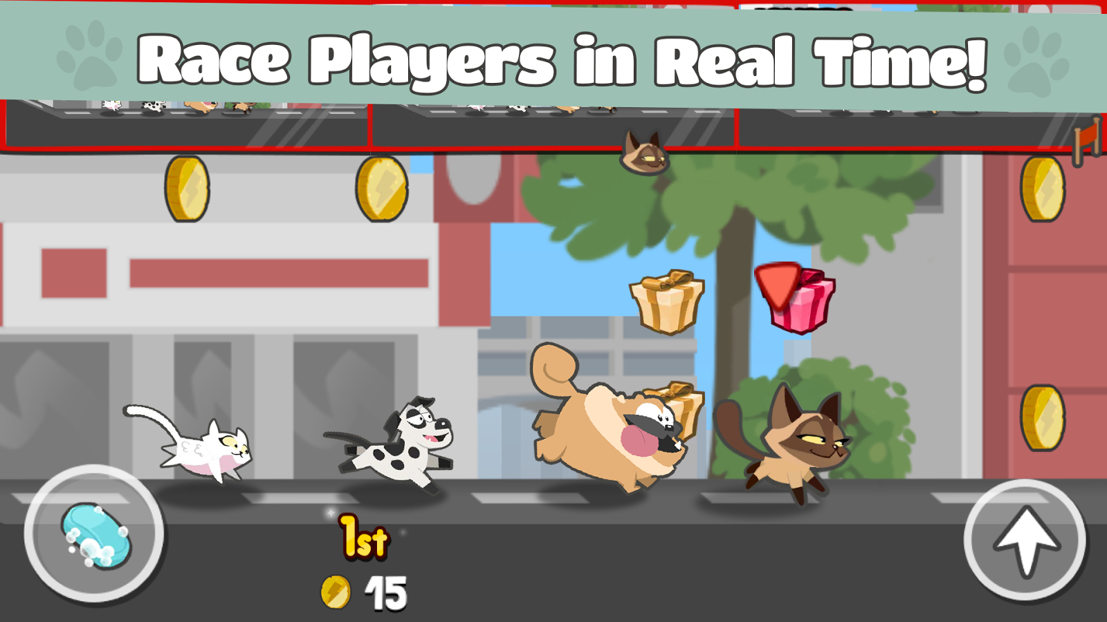 Pets Race - Fun Multiplayer PvP Online Racing Game- screenshot