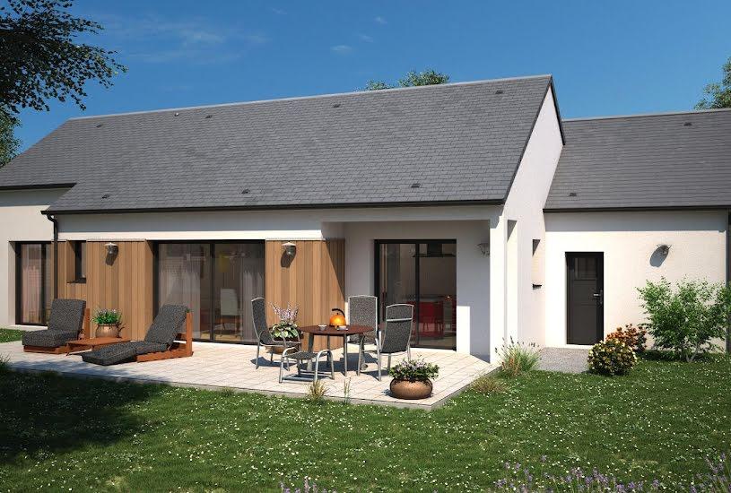 Vente Terrain + Maison - Terrain : 1555m² - Maison : 110m² à Migné-Auxances (86440)