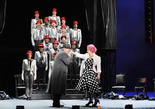 Photo: WIEN/ Theater an der Wien: DIE DREIGROSCHENOPER. Premiere am 13.1.2016. Inszenierung: Keith Warner. Florian Boesch, Angelika Kirchschlager. Copyright: Barbara Zeininger