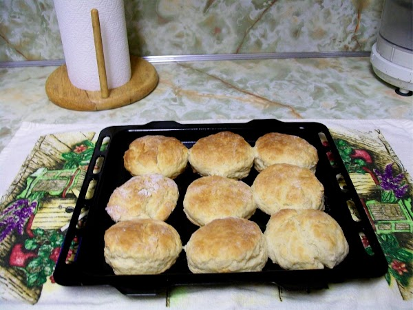 Place biscuits on pan and bake in preheated oven set at 350 degrees for...
