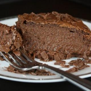 Crustless Chocolate Cheesecake Recipe