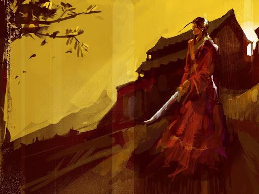 玩免費個人化APP|下載Samurai Girl Live Wallpaper app不用錢|硬是要APP