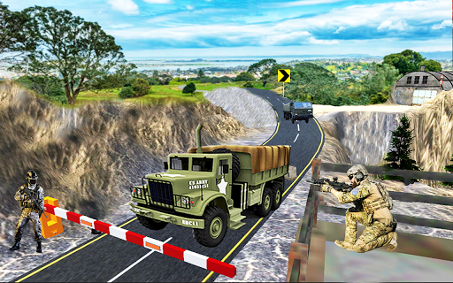 Army Transport Truck Driver : Military Games 2019 apkmind screenshots 12