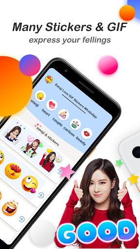 Emoji Love GIF Stickers for WhatsApp screenshot 3