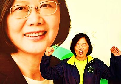 Bà Thái Anh Văn, lãnh đạo đảng Dân tiến (DPP), đã giành chiến thắng áp đảo trong cuộc bầu cử lãnh đạo Đài Loan hôm 16/1. Bà Thái, một cựu giáo sư ngành luật 59 tuổi, trở thành nữ lãnh đạo đầu tiên của Đài Loan.