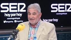Laureano Oubiña durante una entrevista en la Cadena SER.