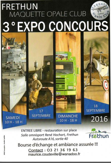 3eme Expo Concours du Maquette Opale Club