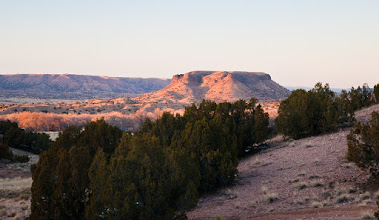 Photo: Black Mesa at sunset; January