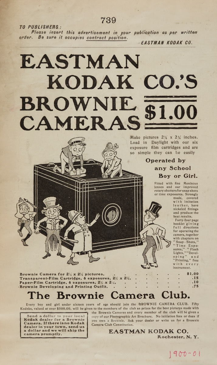 Kodak Advertisement For The Brownie Camera Eastman Kodak Company American Estab 1892 Google Arts Culture