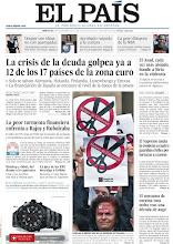 Photo: La crisis de deuda afecta ya a 12 países de la zona euro y Siria se hunde en la violencia, en nuestra portada http://www.elpais.com/static/misc/portada20111116.pdf