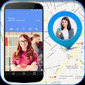 Suivre mobile Caller Locator icon