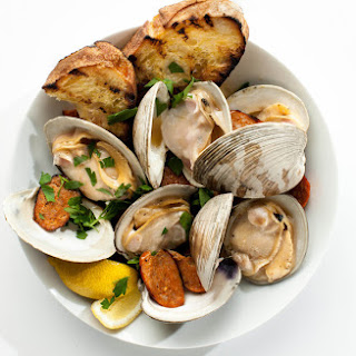 Grilled Clams with Chorizo Recipe