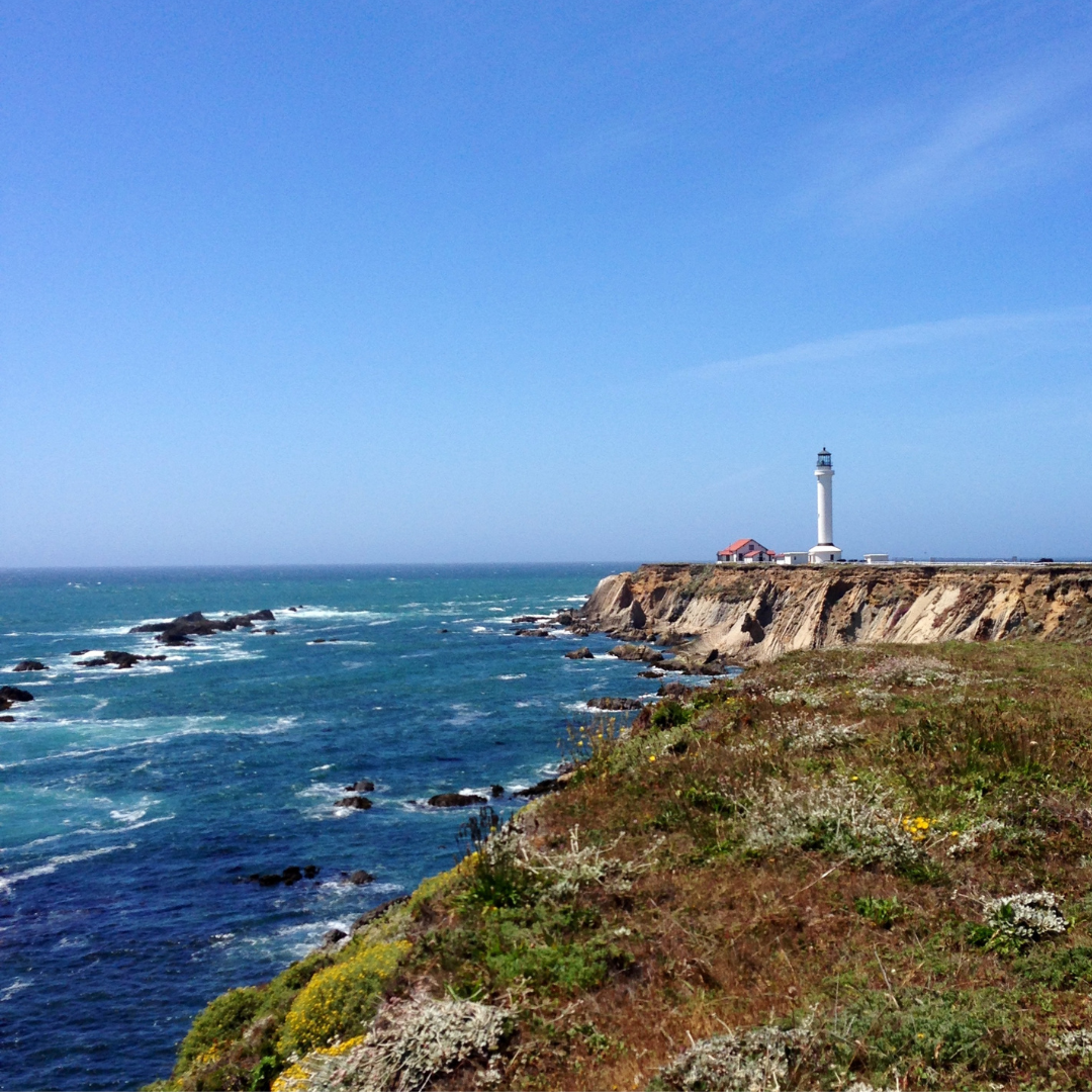 Visiting the Northern Coast on our Summer Road Trip. This drive through the hills and curves of the northern stretch of Pacific Coast Highway may have been my favorite of the entire trip.