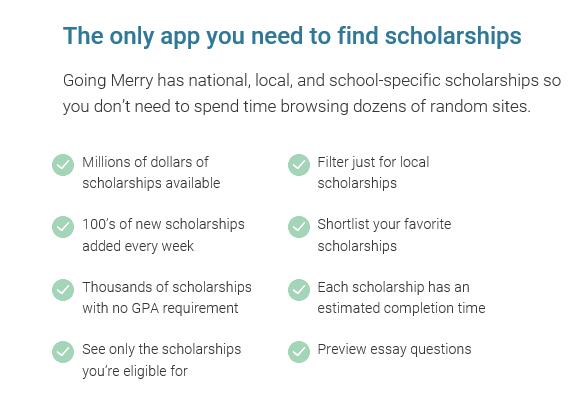 Applying to Scholarships | Going Merry