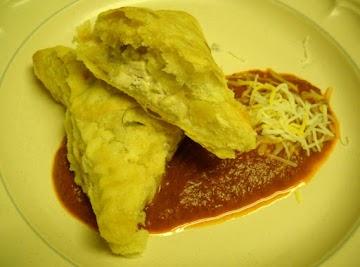 Nontraditional Chicken Empanadas With Heirloom Tomato Ranchero Recipe