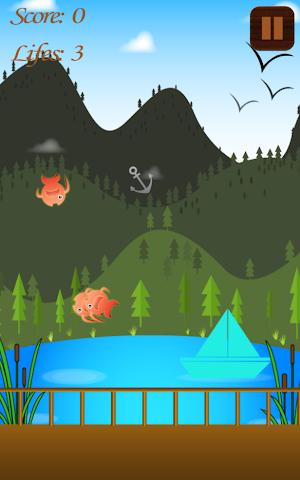 android Hungry Fish Splashy Swipe Game Screenshot 2
