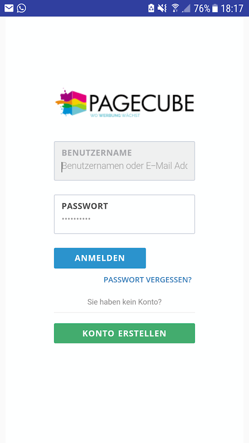 PageCube – Screenshot