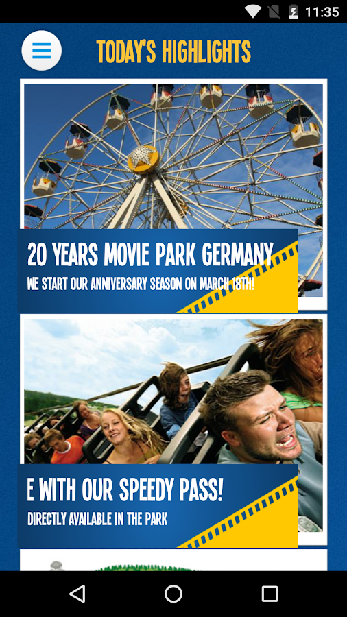 Movie Park Germany- screenshot