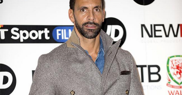 Rio Ferdinand says Kate Wright is a good influence