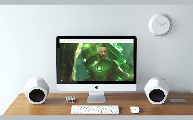 John Stewart New Tab & Wallpapers Collection