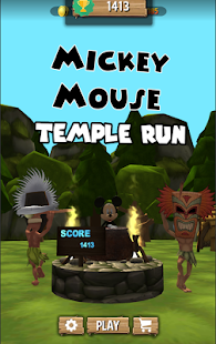 Epic Mickey Temple Mouse Subway Jungle Run - náhled