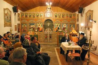 Photo: Гоце Делчев, беседа с енориашите, 12 ноември 2013 г.