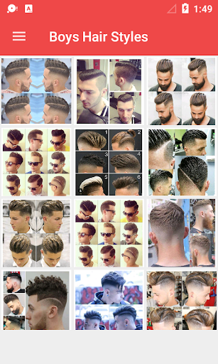 Latest Boys Hairstyle 2018 1.0.3 screenshots 3