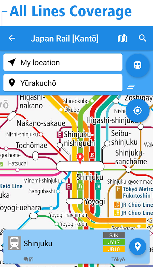 Japan Rail Map Tokyo Osaka Android Apps On Google Play - Japan underground map