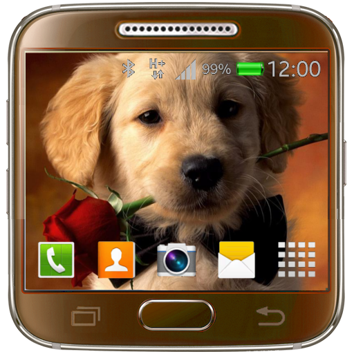 Puppy Live Wallpaper Icon