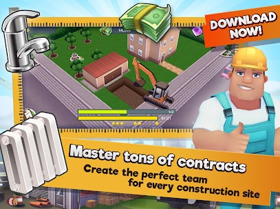 Construction Hero MOD APK 1.0.542 [Unlimited Diamonds + Cash] 6