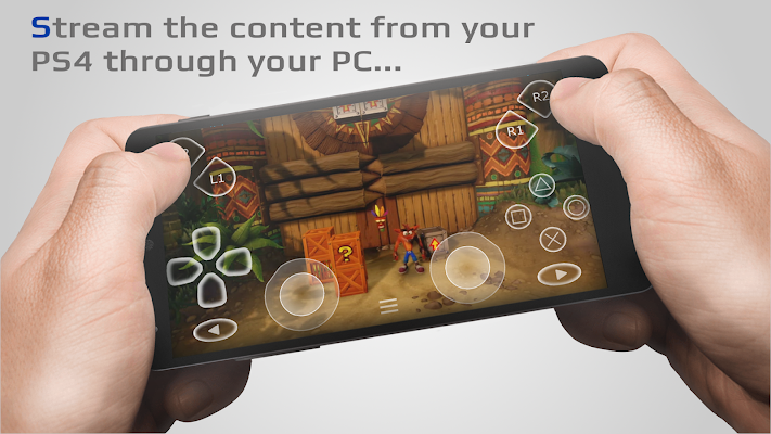 PSJoy Remote Play Spy for PS4 Screenshot Image