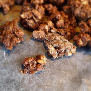 Chocolate Hazelnut Crunchies.